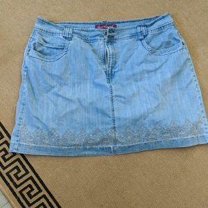 Jeans Skort Size 20W